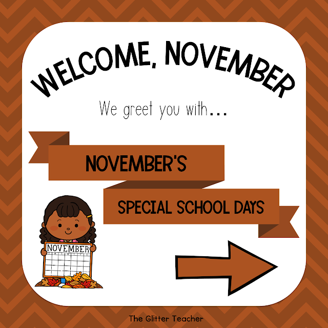 November Special School Days