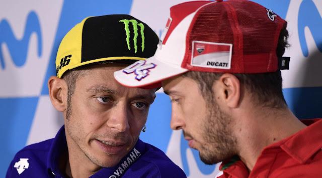 Dovizioso ke Yamaha, Rossi Jadi Pebalap Penguji