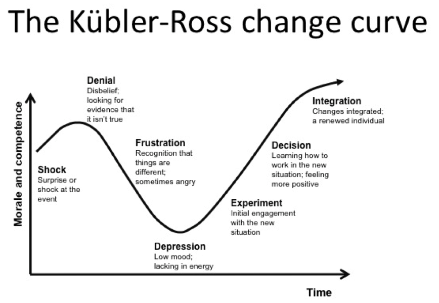 pragmatist  the change curve