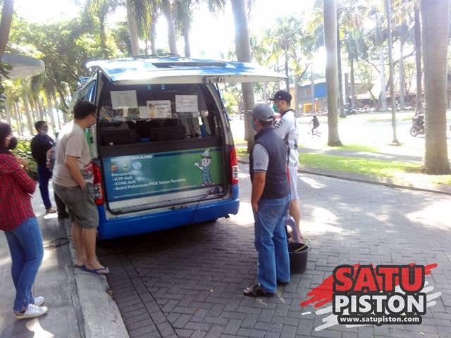 Bayar Pajak Kendaraan Di Samsat Keliling Kota Baru Parahyangan
