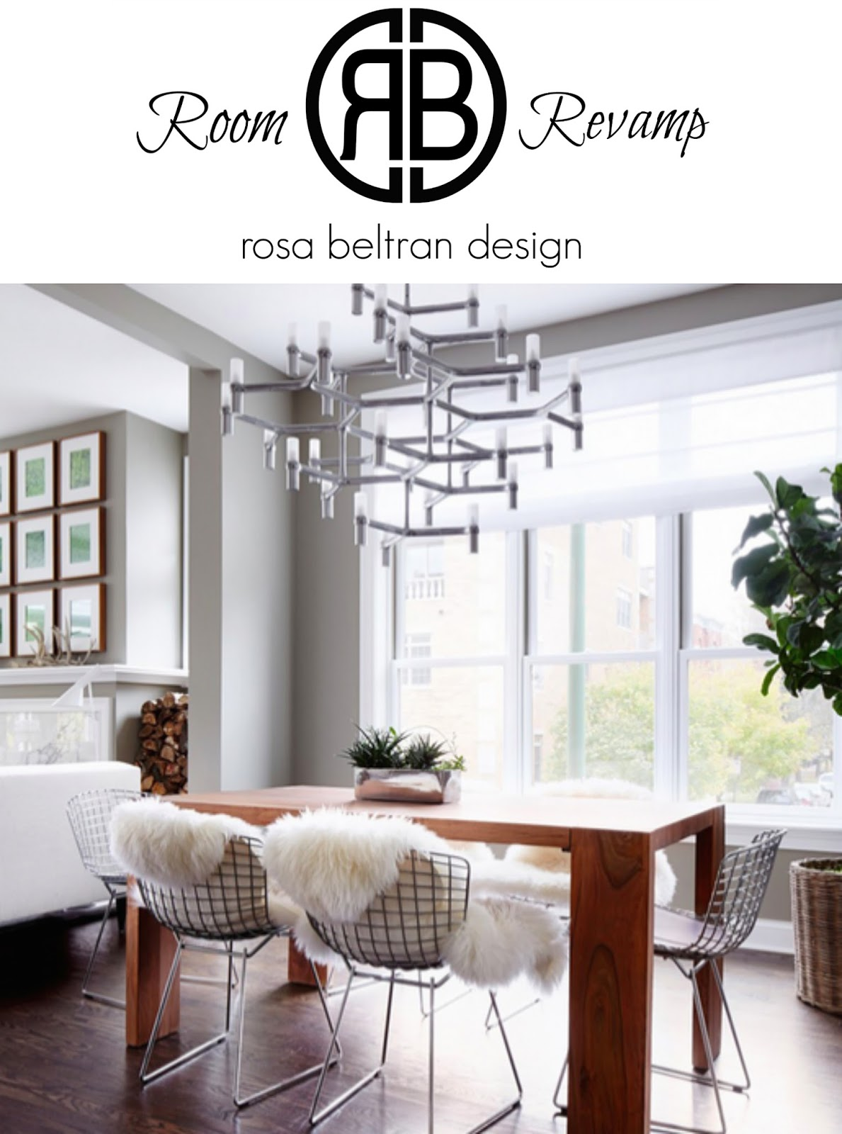 Elegant We Love The Organic Modern Simplicity Of This Dining Room, And We Think The  Various Elements In This Space Make It A Great Room For You To Be Able To  ...