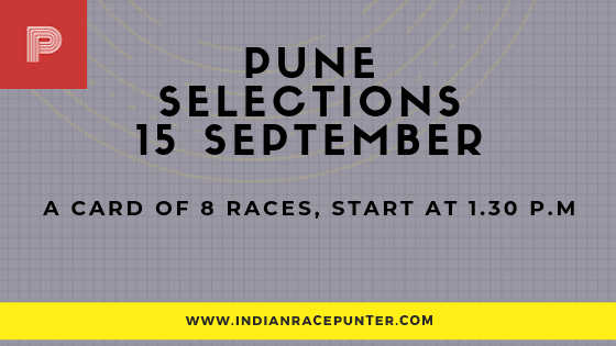 Pune Race Selections 15 September