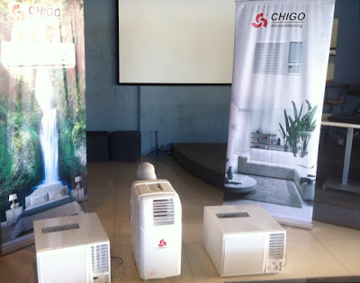 Chigo Philippines Product line up 2020, window type, portable aircon and split type