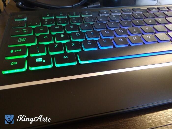 Vale a pena comprar o teclado OEX TC302 Rainbow?