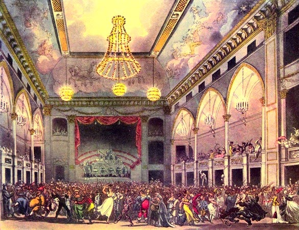 The Pantheon from The Microcosm of London (1808-10)