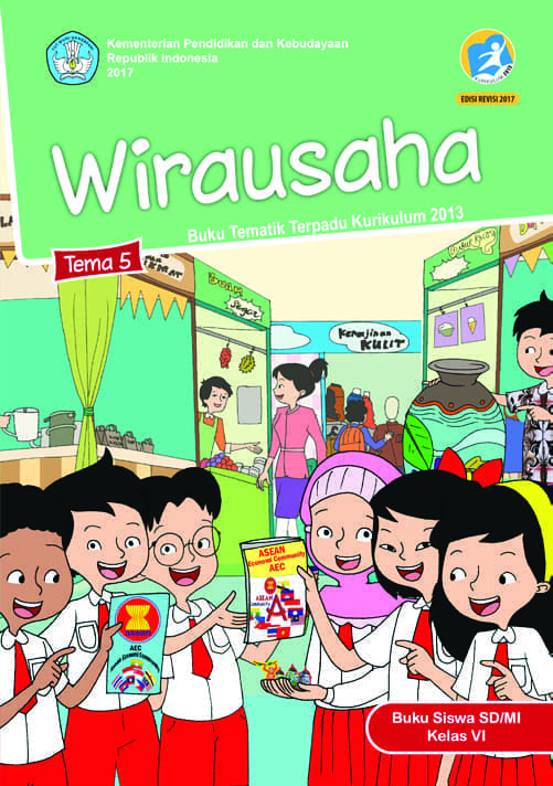 Buku Siswa Tematik SD Kelas VI Tema 5 Wirausaha
