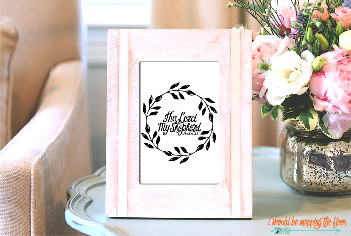 Free The Lord is My Shepherd Printable