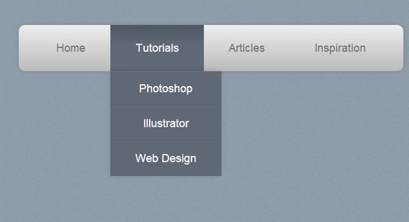 CSS3 Navigation Menu Tutorials for Web and Mobile
