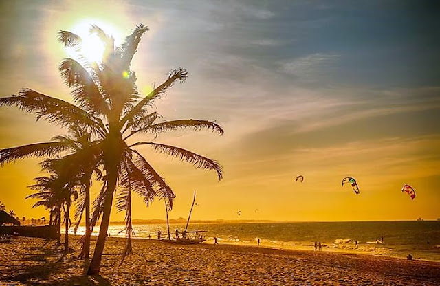Praia de Cumbuco o paraíso próximo de Fortaleza