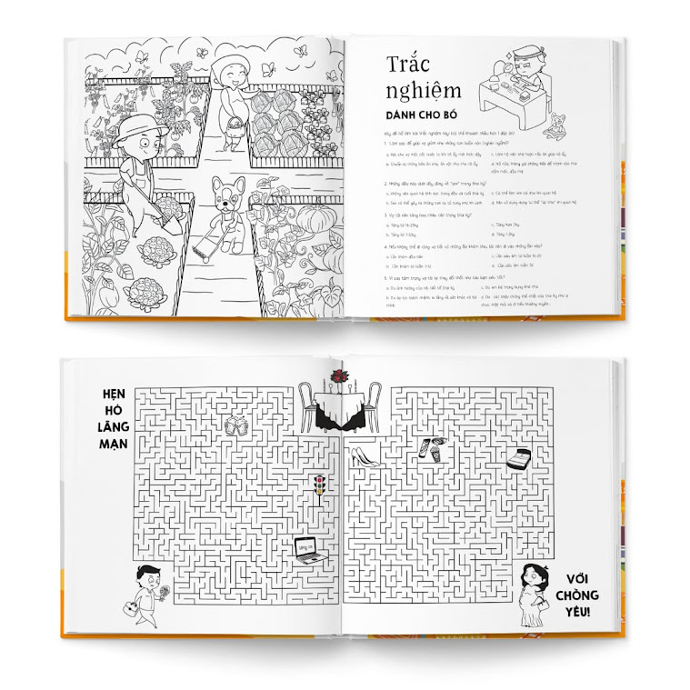 [A116] Activity book: Bộ sách thai giáo bán chạy số 1 Việt Nam