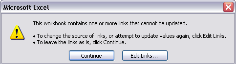 Excel In Your Office: Get Rid of That Annoying Update Links