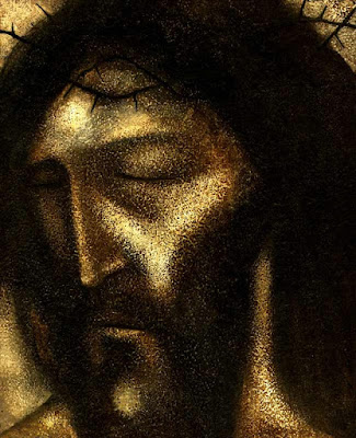 A painting of Jesus by Michael O'Brien entitled Ecce Homo