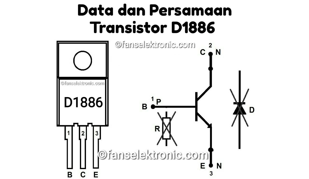 Persamaan Transistor D1886