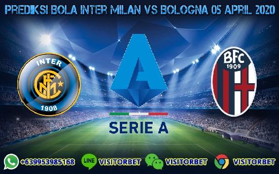 Prediksi Skor Inter Milan vs Bologna 05 April 2020