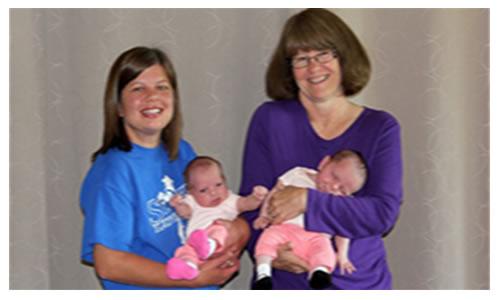 Abuela Usa la Fertilizacion En Vitro