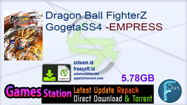 Dragon Ball FighterZ GogetaSS4 -EMPRESS