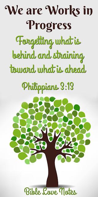 God isn't finished with us yet, Philippians 3:10-17