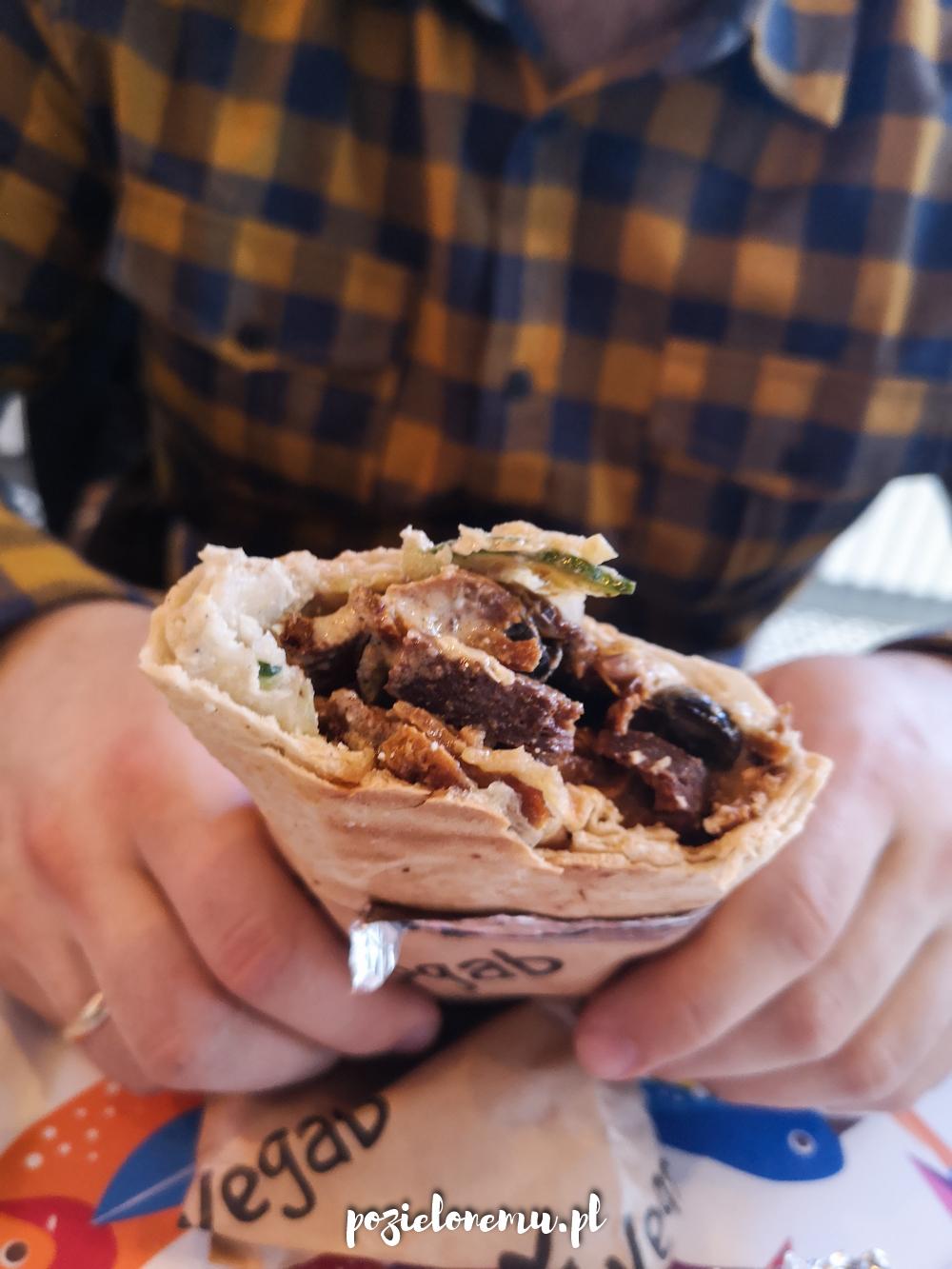 Wegański kebab, czyli VEGAB w Bydgoszczy