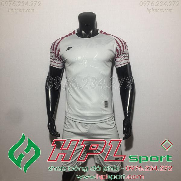 Áo bóng đá ko logo Eureka HAT VC  Màu Xám