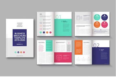 Download contoh booklet