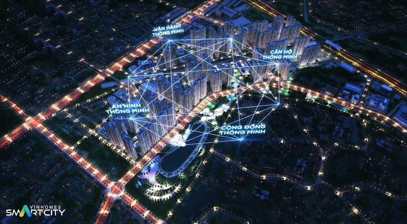 Phối cảnh dự án đại đô thị thông minh của Vingroup