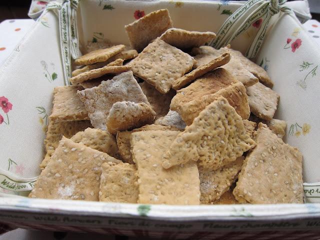 crackers De Sésamo
