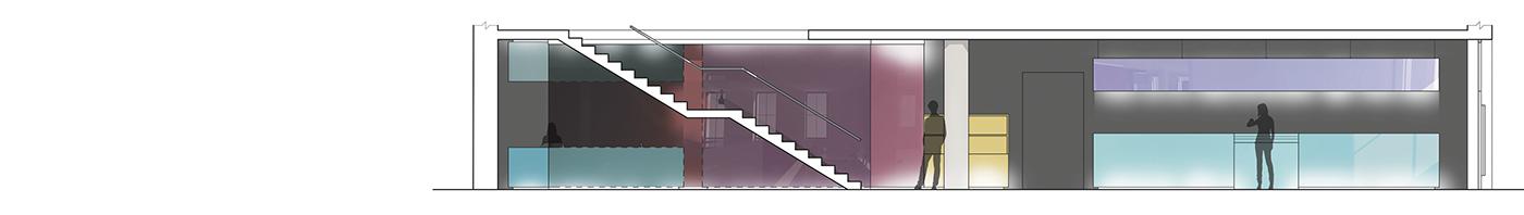 projekt architektury wnętrz marki inglot