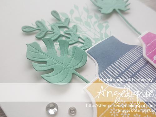 de Stempelkeuken Stampin'Up! producten koopt u bij de Stempelkeuken #stempelkeuken #stampinup #stampinupnl #incolors #bohoindigo #productmedley #stamping #cardmaking #kaartenmaken #kartenbasteln #basteln #knutselen #kleur #interieur #handmadecards #handgemaakt #workshop #jade #echtepostiszoveelleuker #tropical #denhaag #westland #scheveningen #zomer #summer #simplestamping #lovemyjob #happycard #diecutting #echteinsta