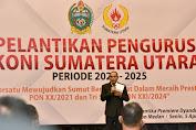 Gubernur Edy Tekankan Tugas Berat Atlet Sumut Hadapi PON XX dan XXI