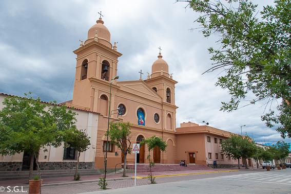 Iglesia de Cafayate. Quebrada de las Conchas. Argentina