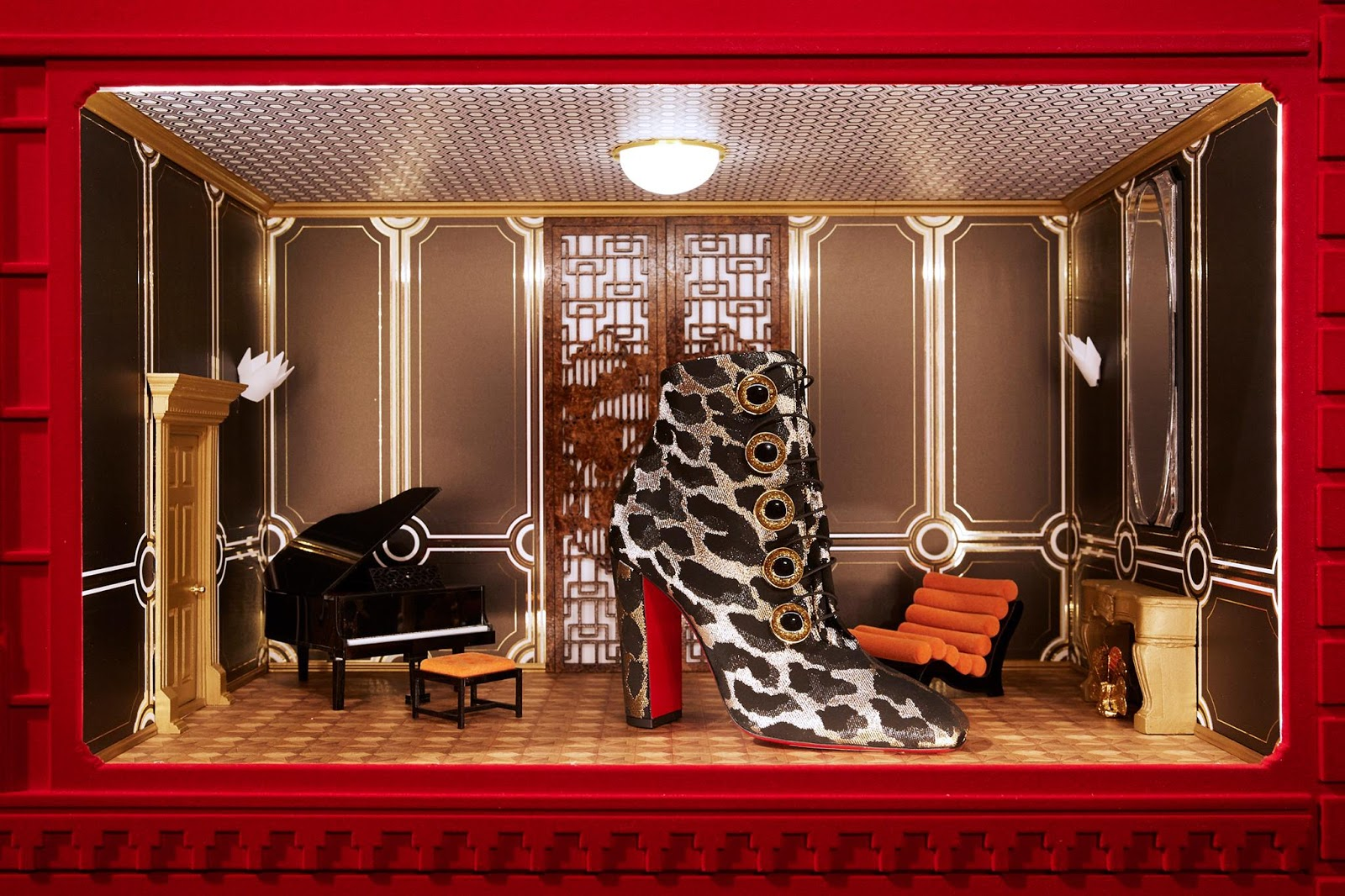 Christian Louboutin Fall Winter 2018 Vignettes Collection