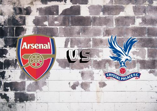 Arsenal vs Crystal Palace  Resumen y Partido Completo