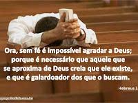 Diligentemente buscando a Deus