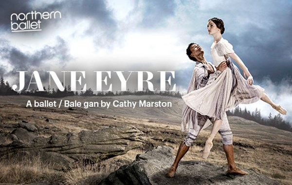 Jane Eyre. A man lifting a woman up in the air.