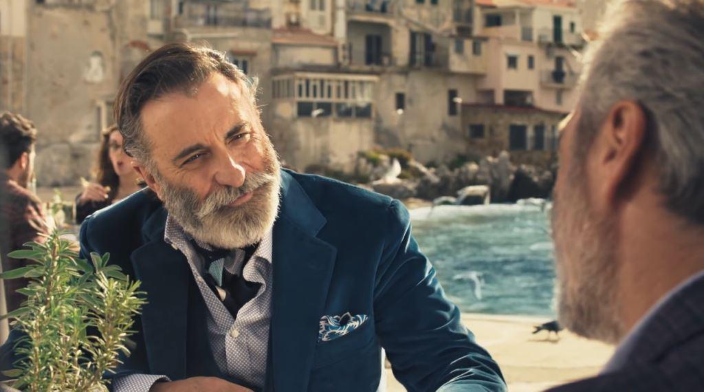 Andy Garcia è l'attore della pubblicità di Averna, l'amaro per le 'teste calde'