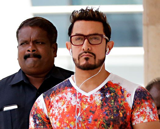 Aamir Khan new look from Secret superstar