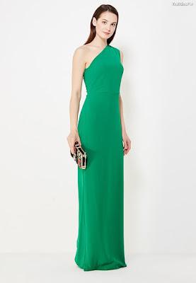 Vestidos de noche verdes