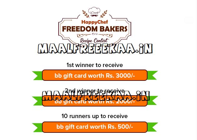 Happy Chef Freedom Bakers Recipe Contest