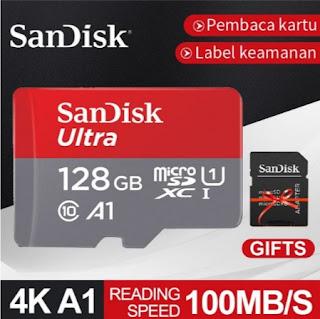Cara baca memori dan microSD