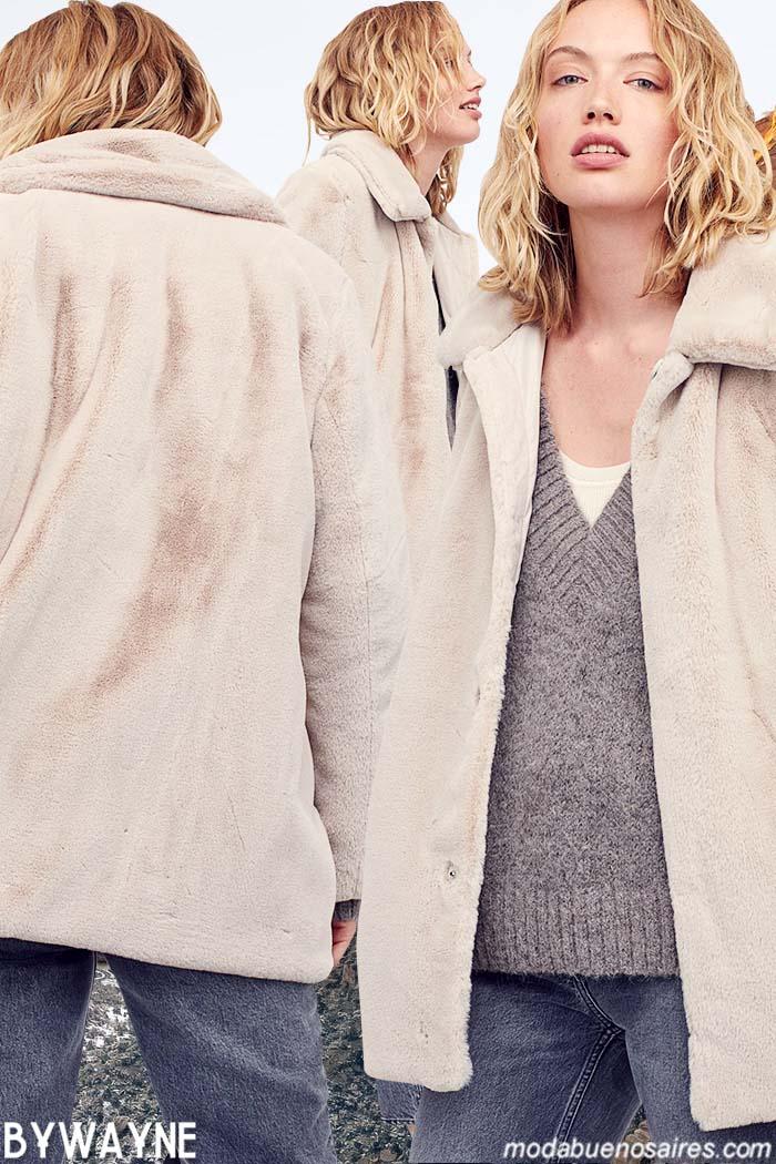 Sacos y camperas de mujer invierno 2021 moda