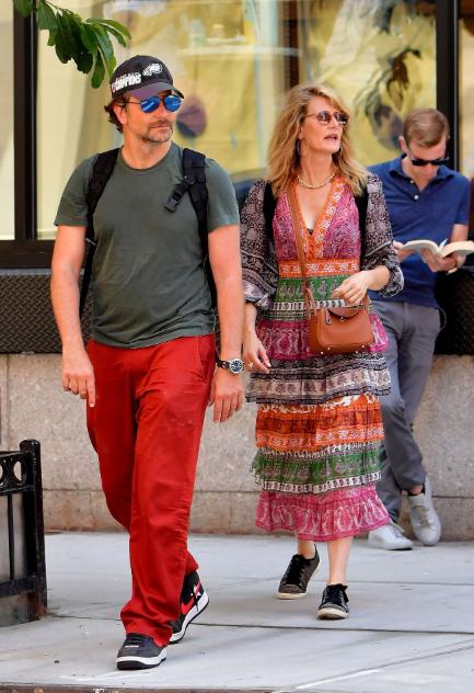Bradley Cooper et Laura Dern Had a Hangout Week-end à New York