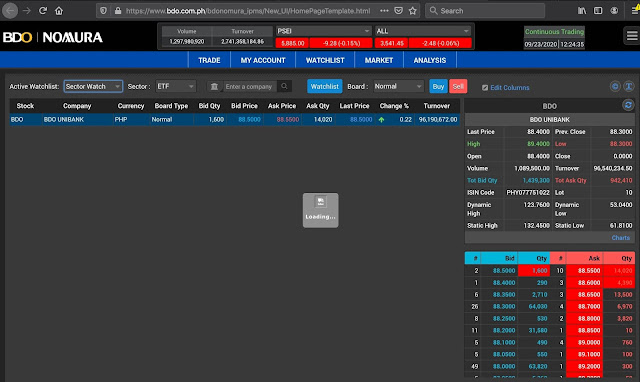 BDO Nomura trading platform