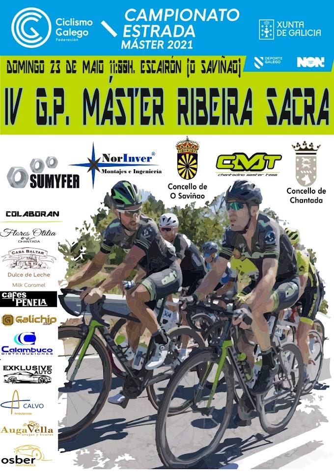 Los másters gallegos se juegan los maillots de Campeones de Galicia en el G.P. Ribeira Sacra