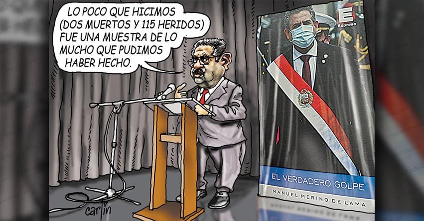 Carlincaturas Lunes 9 Agosto 2021 - La República
