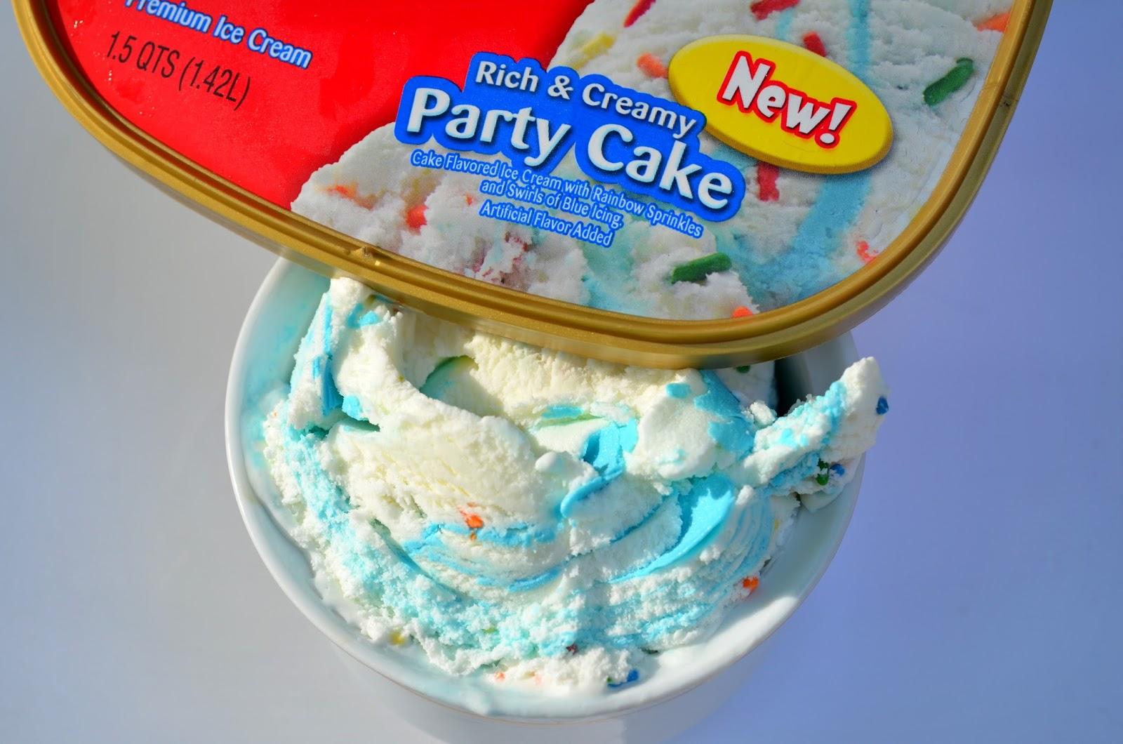 Friendlys Party Cake Ice Cream
