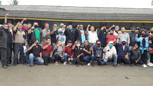Pertemuan Silaturahmi Sesama Wartawan Terkait Oknum APDESI Ojang Di-Jalur  Sukabumi