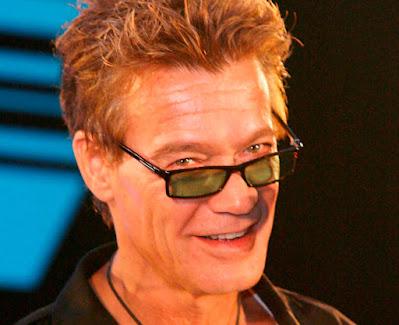 Eddie Van Halen, en Los Ángeles, California (EE,UU.), en 2007