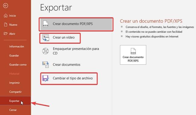 cambiando formato a infografía en PowerPoint
