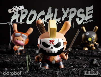 Kidrobot Post Apocalypse Dunny Series by Huck Gee