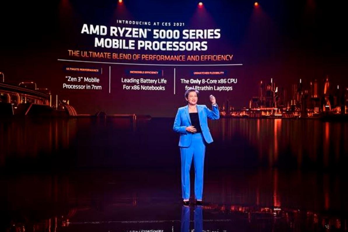 AMD Luncurkan Prosesor Mobile Ryzen 5000 Series di CES 2021
